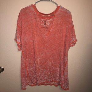 Orange Free People T-shirt